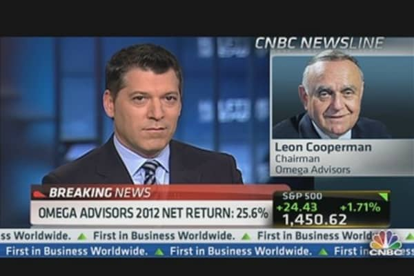 Leon Cooperman's Top Stocks for 2013