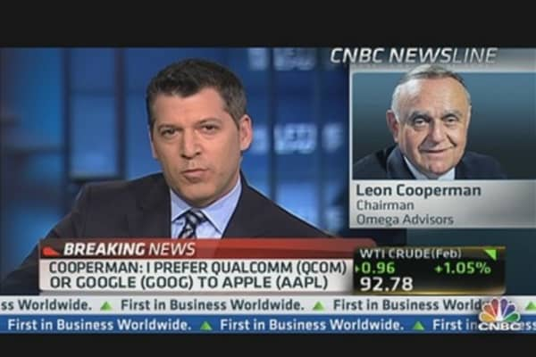 What Leon Cooperman Prefers to Apple
