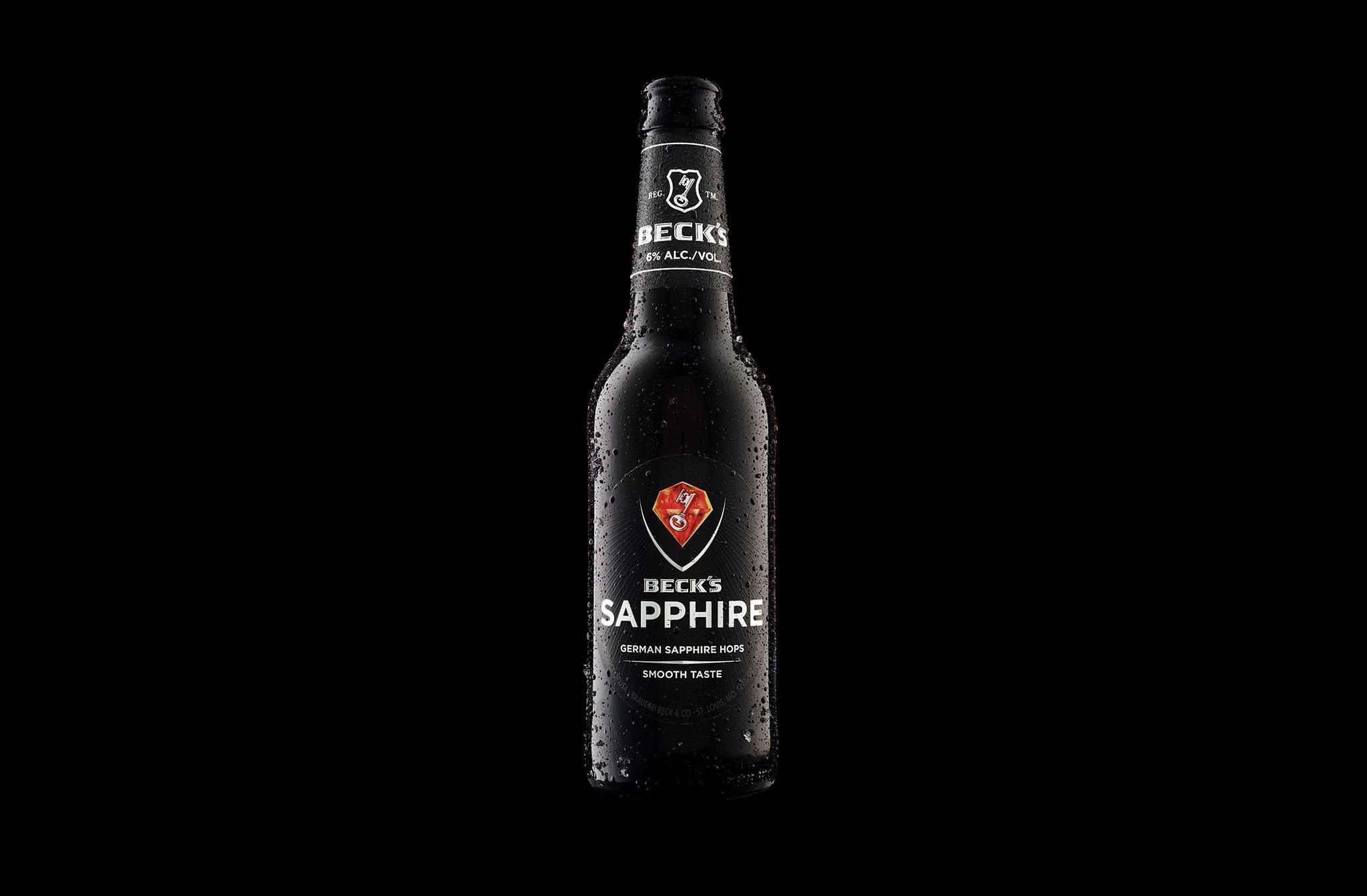 Anheuser-Busch Debuts Beck's Sapphire Beer