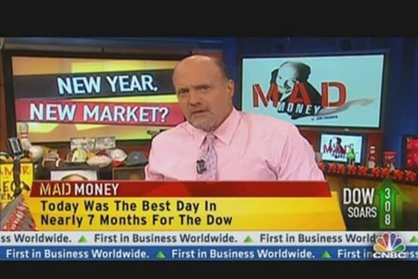 Best Market Day In 4 Years: Cramer