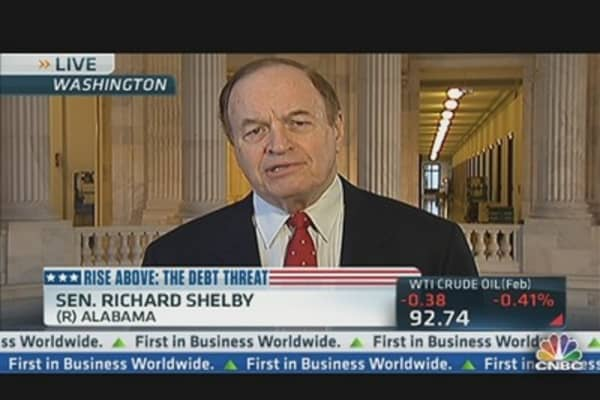 Sen. Shelby: 'We're Committing Financial Suicide'