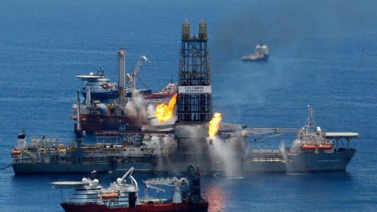 Transocean Discoverer Enterprise drillship