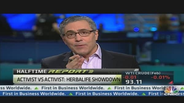 Activist vs. Activist: Herbalife Showdown
