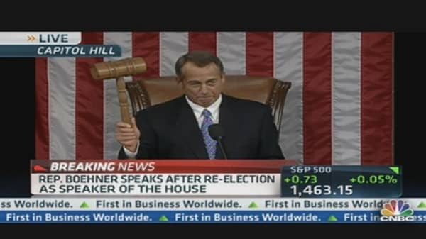 Boehner: Economy Has Too Much Debt