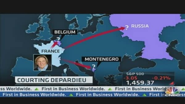 The Depardieu Global Guessing Game