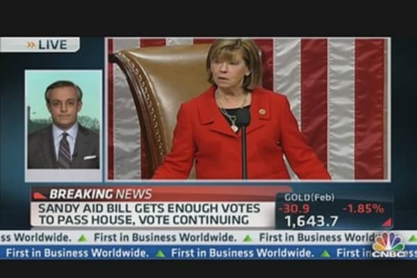 House Passes $9.7 Billion Aid BIll