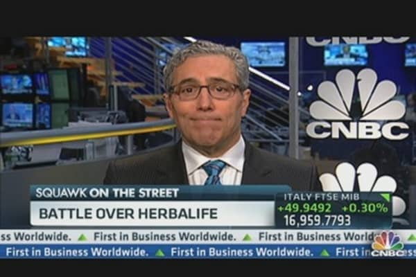 Herbalife Battle Intensifies
