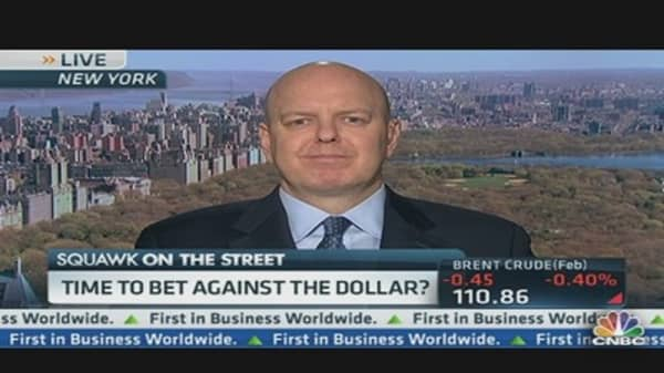 Time to Bet Against the US Dollar?