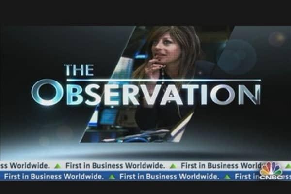 Maria's Observation: The Quarter Ahead
