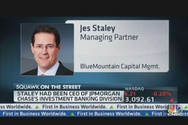 JPMorgan's Staley Joins BlueMountain