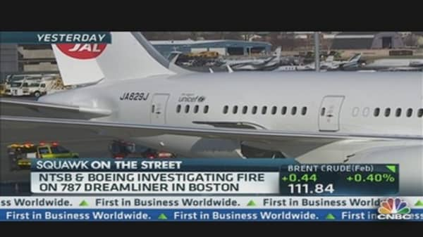 Safety Officials Investigating Dreamliner Fire