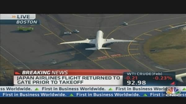 Japan Airlines Flight Returned to Gate Prior to Takeoff