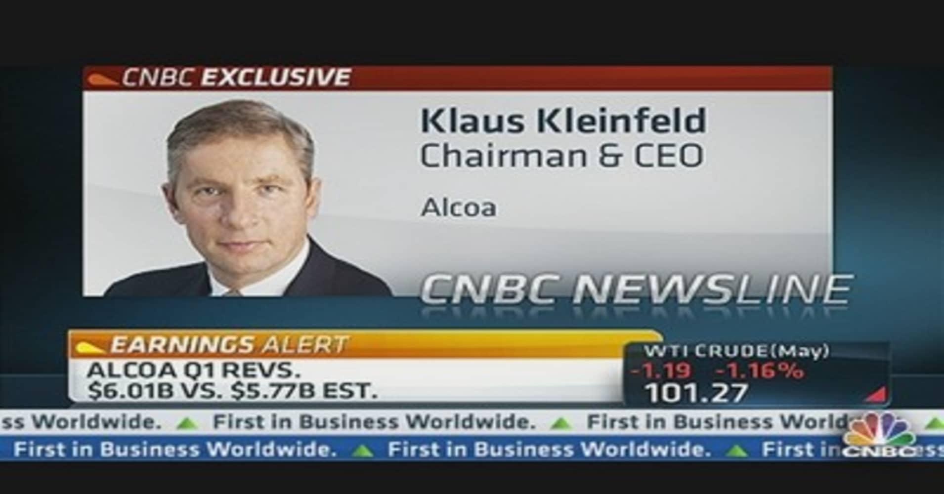 Alcoa CEO: Aluminum Demand Will Double In This Century