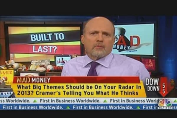 Cramer: Insurance Top Theme for 2013