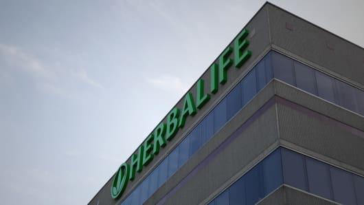 Herbalife headquarters in Los Angeles, California.
