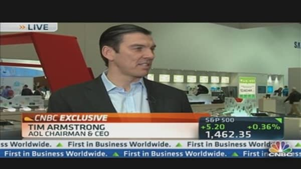 AOL's CEO Looks to the Cloud