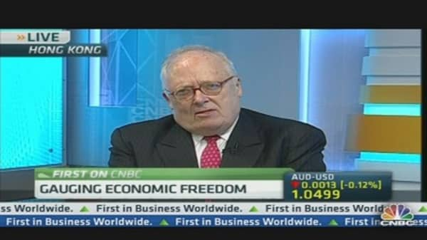 Advance Towards Economic Freedom Slowing: Heritage Foundation