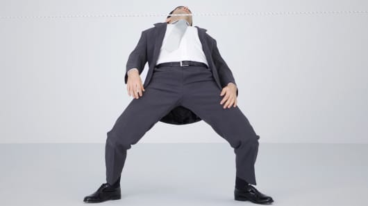 Businessman Limbo
