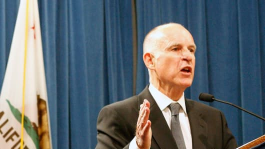 Jerry Brown, Governor of California