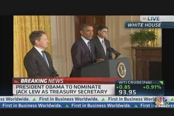 Pres. Obama Nominates Jack Lew