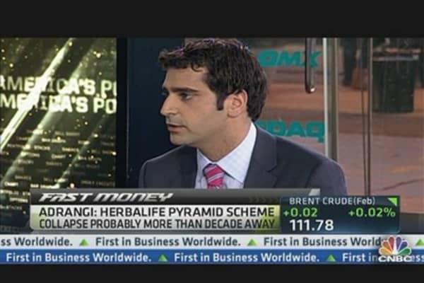 Herbalife 'Poised to Bounce Back': Adrangi