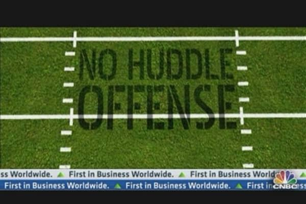 No Huddle Offense: Speculating Can Work