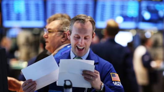 NYSE trader fiscal cliff