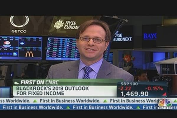 BlackRock's 2013 Bond Outlook