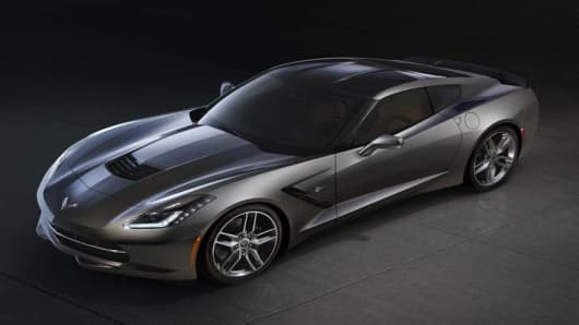 The Stingray Returns Chevy Unveils C7 Corvette