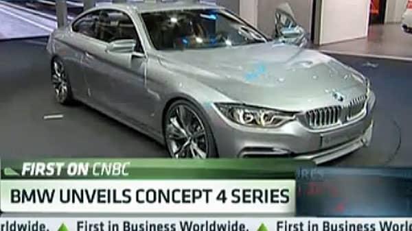 Wow Factor: BMW Unveils Concept 4 Series