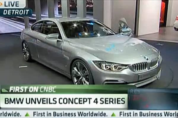 Wow Factor: BMW Unveils Concept 4 Series