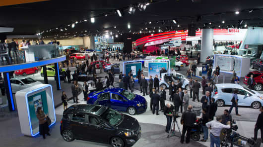 Detroit Ups Dazzle On Upcoming Auto Show - Upcoming auto shows
