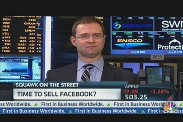 Time to Sell Facebook?