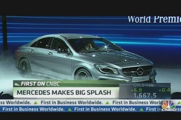 Mercedes Unveils 'Baby Benz'