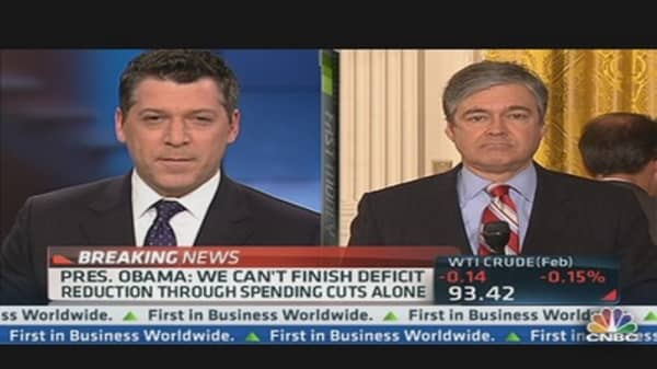 Pres. Obama: Making Progress in Cutting Deficit