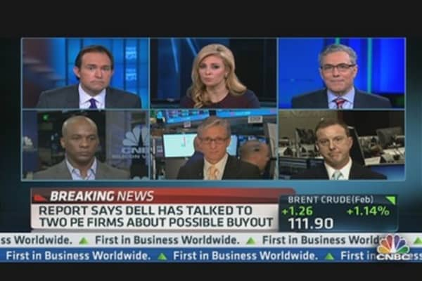 Dell Shares Surge on Rumored Buyout