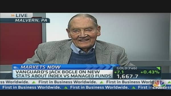 Vanguard's Bogle Makes the Case for the Index Fund