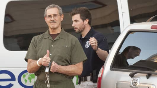 Allen Stanford, accused of leading a $7 billion investment fraud scheme.