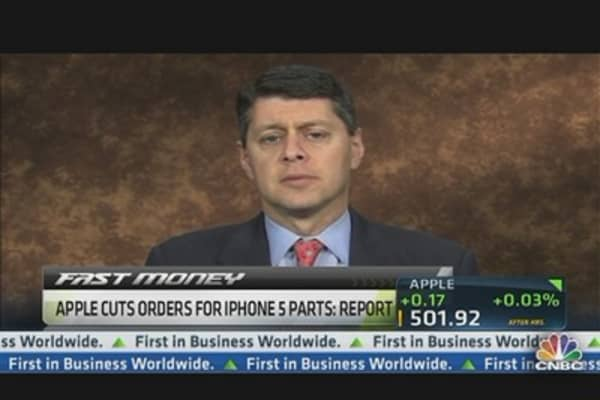 Apple Stock Stands to Lose 80 Percent from High: Schatz