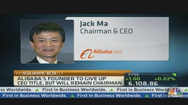 Alibaba CEO Passes the Torch