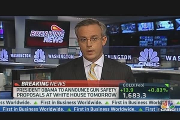Obama to Announce Gun Safety Proposals