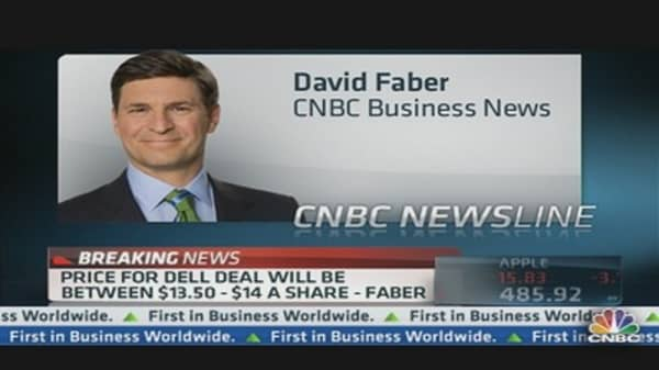 Dell Deal Could Be Announced Within 2 Weeks: Faber