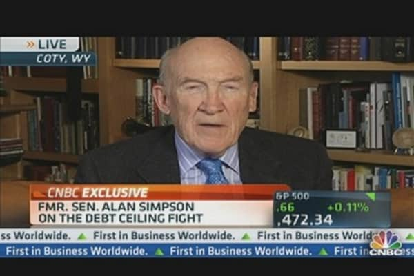 Alan Simpson on Debt Ceiling Fight