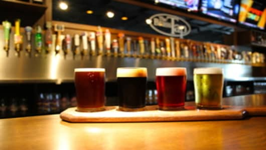 Craft Beer at The Brass Tap