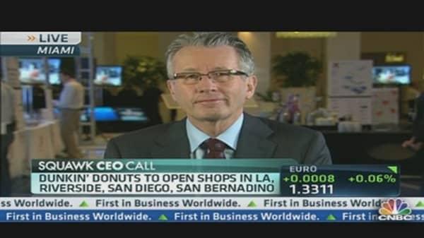 California: Dunkin' Donuts Slam Dunk?