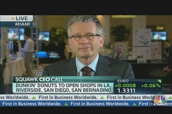 California: Dunkin' Donuts Slam Dunk?