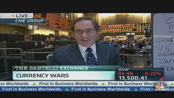 Santelli's Currency War Strategies