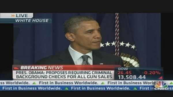 Pres. Obama Proposes New Gun Laws