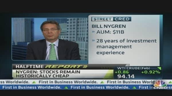 Stocks Are Cheap: Portfolio Manager