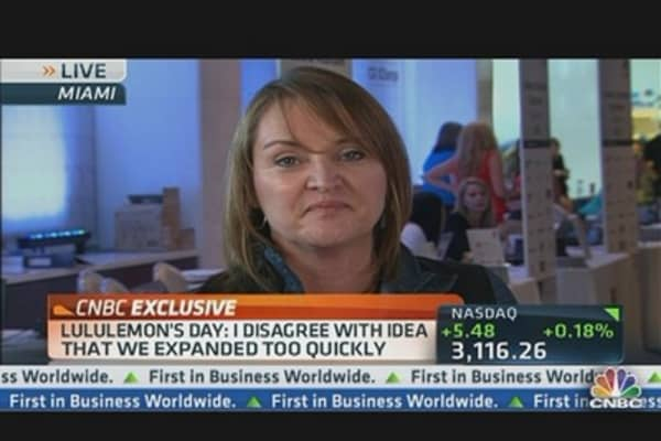 Lululemon CEO Talks Earnings